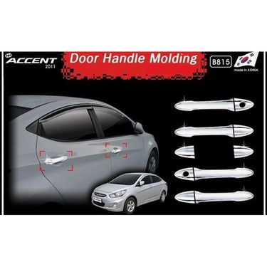 Chrome Door Handle Set - Hyundai Verna Fluid-AF655