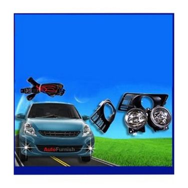 Maruti Suzuki Swift Type-2 Fog Light Lamp Set of 2 Pcs. With Wiring