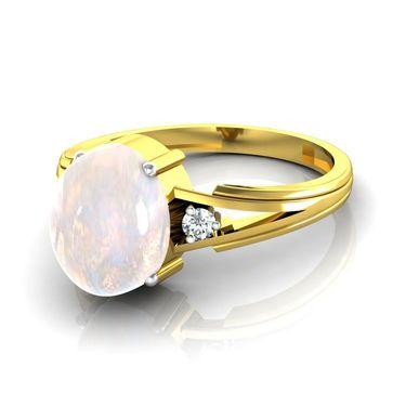 Ag Real Diamond Rani Ring_AG014y