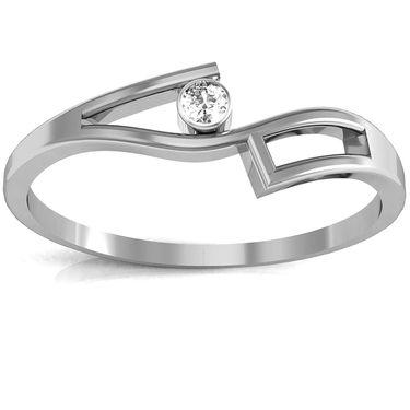 Ag Real Diamond Assam Ring_AG0065w