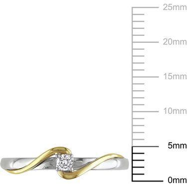Ag Real Diamond Kajol Ring_ AGSR0297