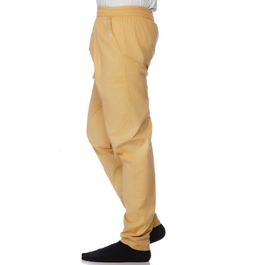Delhi Seven Cotton Trackpant _Aklr07 - Cream