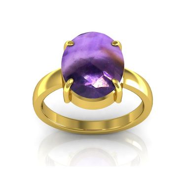 Kiara Jewellery Certified Katela 3.0 cts & 3.25 Ratti Amethyst Ring_Amtry
