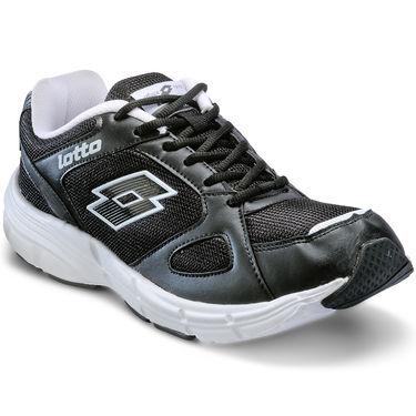 Lotto Black & White Sports Shoes -AR2563