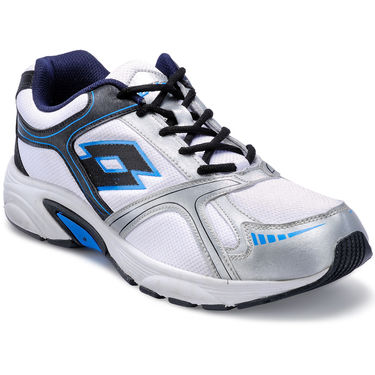 Lotto White &  Navy Sports Shoes -AR2594