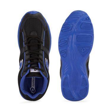 Lotto Mesh Sports Shoes AR3162 -Black & Royal Blue