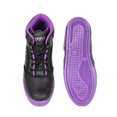 Kohinoor Footwears Faux Leather Casual Shoes AS0012_Purple