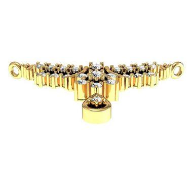 Avsar Real Gold & Swarovski Stone Kanika Mangalsutra_Avm001yb