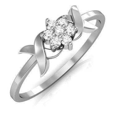 Avsar Real Gold & Swarovski Stone Gujarat Ring_A033wb