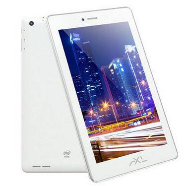AXL Tab 718G-IA Dual Core Intel Atom IPS Display Calling Tablet  with 1GB RAM and 8GB Internal Memory - White