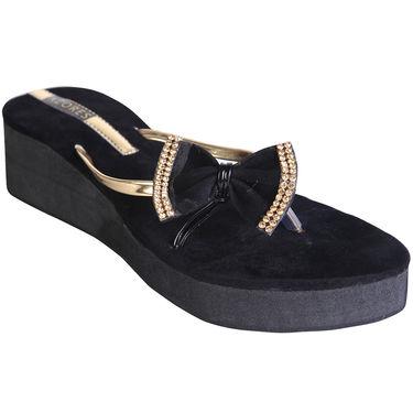 Azores Womens Black Sandals -Azf_16B