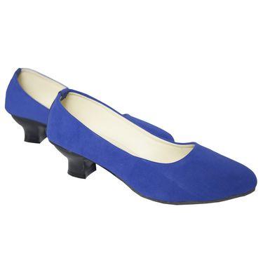 Azores Womens Blue Heels Bellies-Azf_Vblu