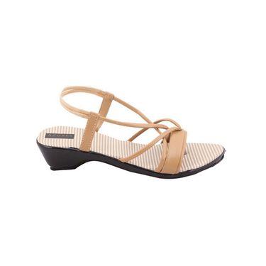 Azores Womens Cream Sandals -Azf_Wc