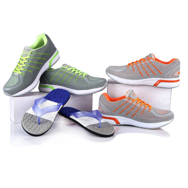 Aairwalk Trendy Sports Shoes + Flip Flops (Pick Any 1)