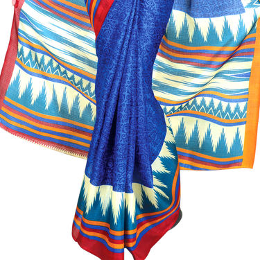 Aarti Set of 7 Tussar Art Silk Sarees (7B3)