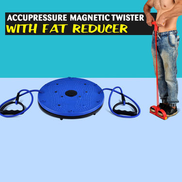 Acupressure Magnetic Twister with Fat Reducer