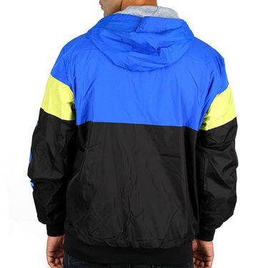 Adidas Men Full Sleeves Jacket_Adidas01 - Black