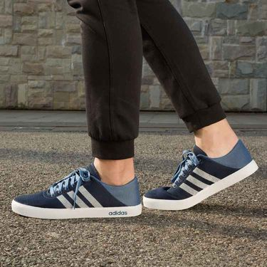 Adidas Neo Mesh Navy Blue Sneaker Shoes -oal01