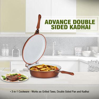 Advanced Double Sided Kadhai