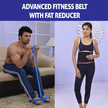 Advanced Fitness Belt with Fat Reducer