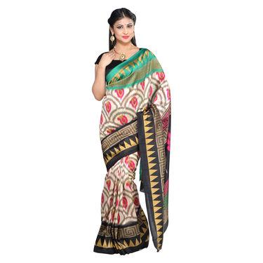 Akanksha Collection of 7 Printed Art Silk Sarees by Pakhi (7A15)