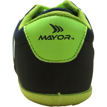 Mayor  Amaze Navy, Lime Green Shoes - 7