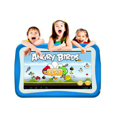 Ambrane AK-7000 Dual Core Android Kids Tablet with 3G via Dongle Support - Blue