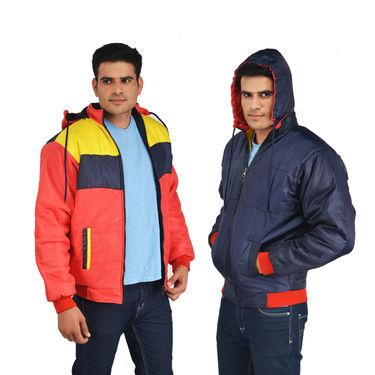 American Indigo Reversible Jacket - Peach (RNJT7)