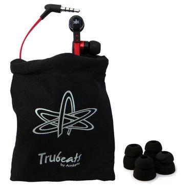Amkette Trubeats Atom X12 In-Ear Headphones - Red