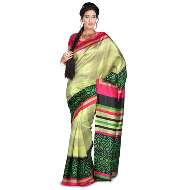 Anadita Collection of 14 Printed Art Silk Sarees by Pakhi (14A1)