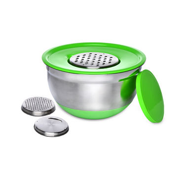 Anti-skid Grater with 8 Double Molding Modular Storage Containers