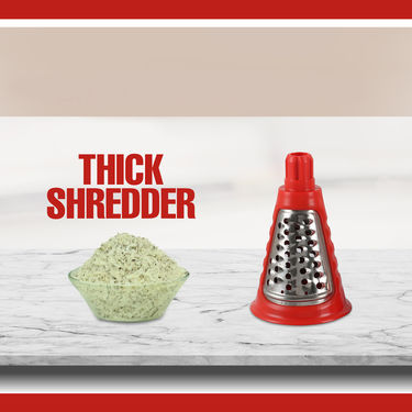 Apex 4 in 1 Drum Slicer Shredder & Grater