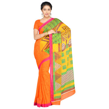 Aradhana Collection of 7 Printed Georgette Sarees by Pakhi (7G35)