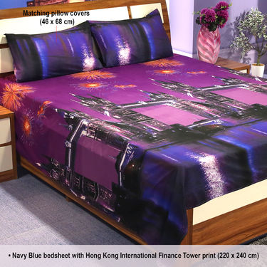 Around the World Pack of 5 - 3D Bedsheets (5BS20)