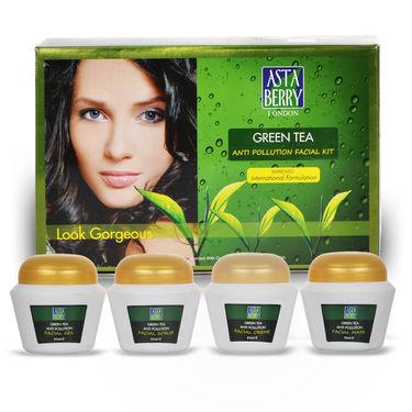 Astaberry Green Tea Facial Kit