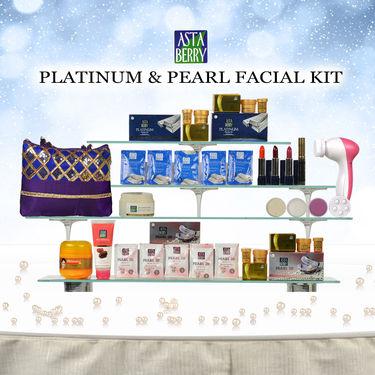 Astaberry Platinum & Pearl Facial Kit