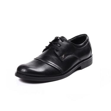 Branded Leather Formal Shoes B-14 Black