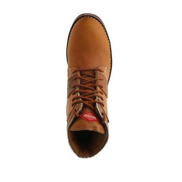 Bacca bucci Leather  Boot Bb023 _Tan