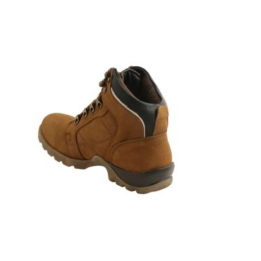 Bacca bucci Leather  Boot Bb026 _Tan