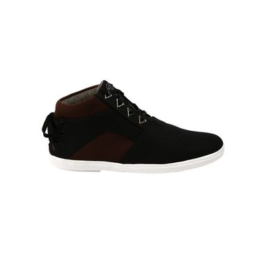 Bacca Bucci Canvas Maroon Casual Shoes -Bbmb3066M
