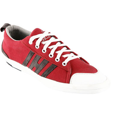 Bacca Bucci Canvas Red Casual Shoes -Bbmb3067J
