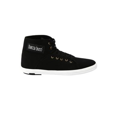 Bacca Bucci Canvas Black Casual Shoes -Bbmb3068A