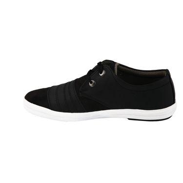 Bacca Bucci PU & suede  Casual Shoes  Bbmb3081A -Black