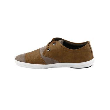Bacca Bucci PU & suede  Casual Shoes  Bbmb3081D -Tan