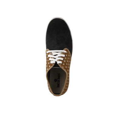 Bacca Bucci Canvas  Casual Shoes  Bbmb3084D -Tan & Black