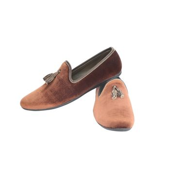 Bacca Bucci Fabric Brown Casual Shoes -Bbmb3127C