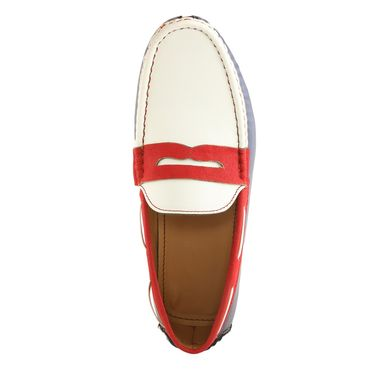 Bacca Bucci Faux Leather  White  Loafers -Bbmc4038U
