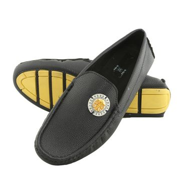 Bacca Bucci Faux Leather  Black  Loafers -Bbmc4039A