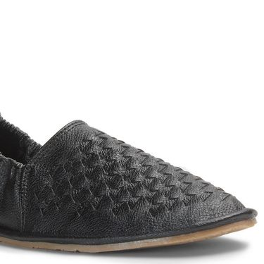 Bacca Bucci Artificial Leather Black Loafers -Bbmc4071A