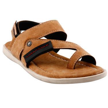 Bacca Bucci Leather  Sandal  Bbme6006D -Tan